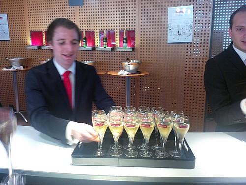 Degustatie bij Mercier Champagne