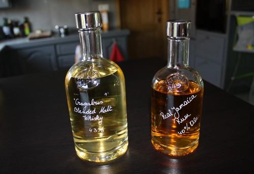 Whisky en rum