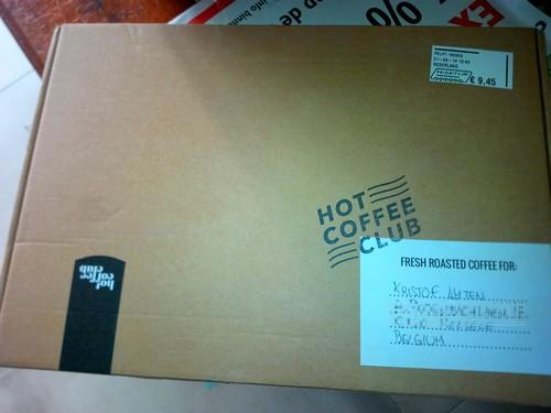 Tasting box Hot Coffee Club