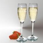 Champagneglazen Amor