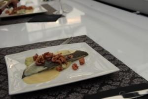 dinner in the sky: hoofdgerecht