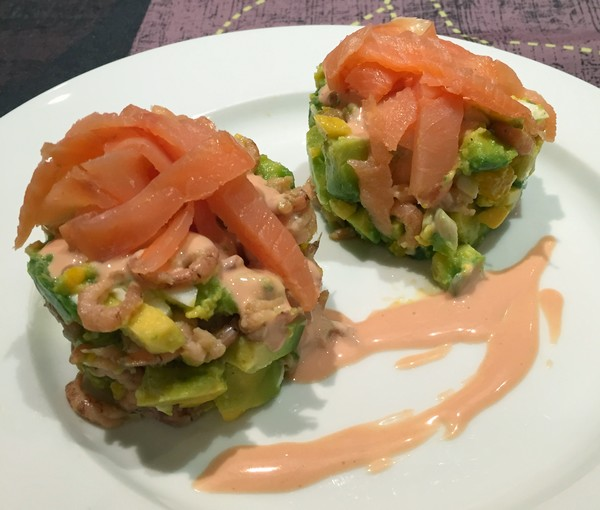 avocado-zalm-garnaal-cocktailsaus