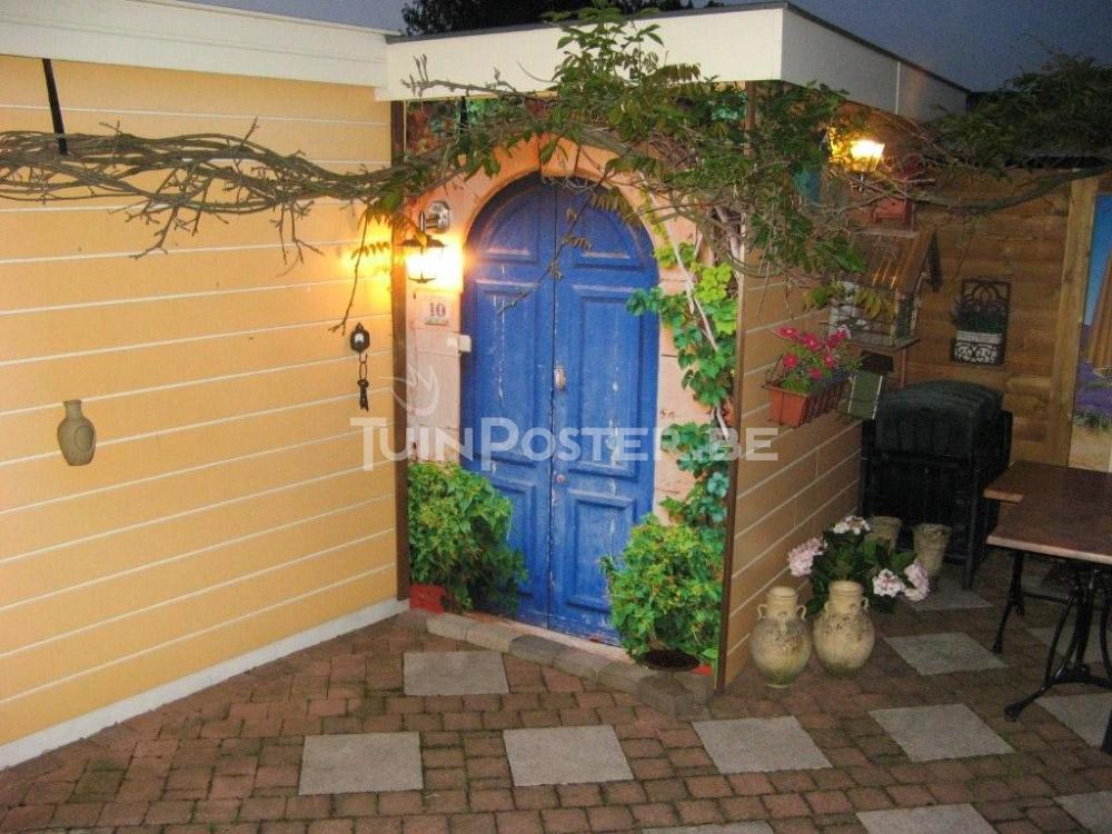 tuinposter-deur