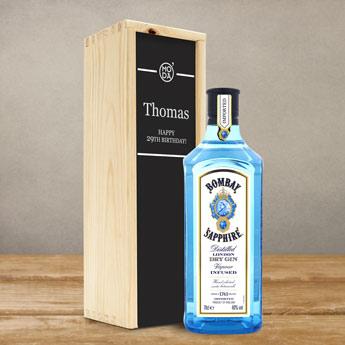gin-in-een-houten-kist