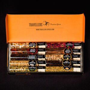 gin botanicals: travellers box