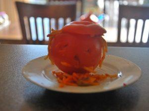 Halloween tomaat