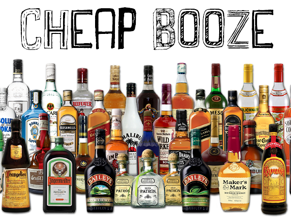 Online goedkoop sterke drank bestellen