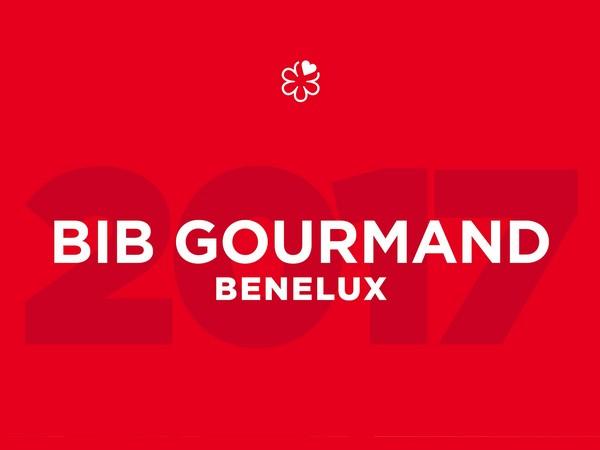 Bib Gourmand lijst 2017