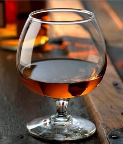 glas-cognac