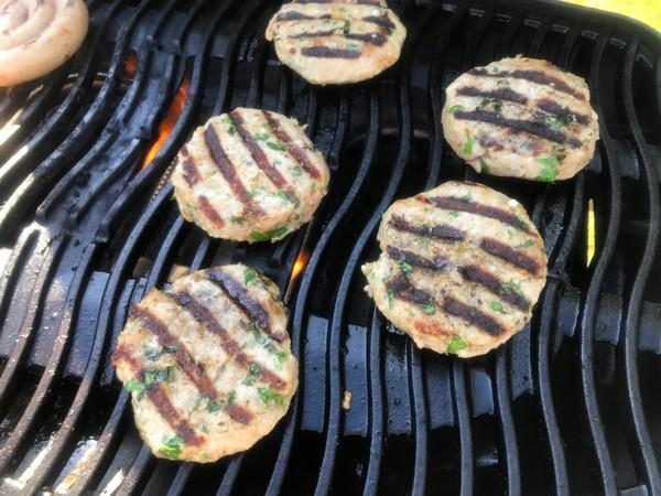 Griekse hamburgers