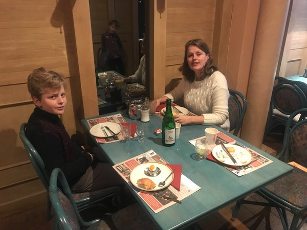 Ontbijten in Hotel Botteltje
